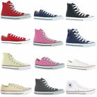 NEW MENS WOMENS CONVERSE ALL STAR HI TOPS CHUCK TAYLOR SHOES TRAINERS SIZE 3-11