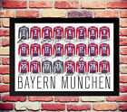 BAYERN MUNCHEN MUNICH 14/15 SQUAD TEAM SIGNED AUTOGRAPH PHOTO POSTER ROBBEN LAHM
