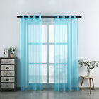 Sheer Grommet Curtain Panels By GoodGram¨ - Assorted Colors