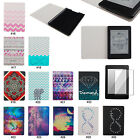 "Hybrid PC PU Leather Flip Folio Case Cover Skin For 6"" Amazon Kindle Paperwhite"