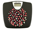 FC536 NEW LOGO NOVELTY THEME BLACK BATHROOM DIGITAL WEIGHT SCALE POUNDS LBS