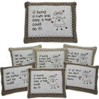 MUM CUSHION PILLOW SOFT CUDDLY MESSAGE GIFT SENTIMENTAL HOME DECORATION MOTHER