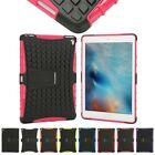 Heavy Duty Military Armor Shockproof Hard Protector Case Silicone Cover For iPad