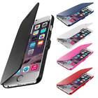 New For Apple iPhone 6 Plus Magnetic Flip Leather Hard Pouch Wallet Case Cover