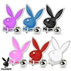 New Surgical Steel Novelty Genuine Playboy Bunny Rabbit Tragus Cartilage Bar