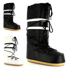 Womens Nylon Tall Classic Moon Mucker Ski Waterproof Winter Snow Rain Boots 3-8
