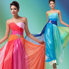 Fashion Womens Long Formal Evening Bridesmaid Wedding Prom Party Dress Ball Gown