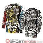 ONEAL ELEMENT 2015 WILD MOTOCROSS MOTO-X MX DIRT BIKE QUAD OFF ROAD RACE JERSEY