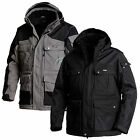 Blaklader Water Repellent and Quilt Lined Winter Work Parka - 4414