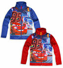 Boys Disney Cars Jacket Kids Lightning Mcqueen Zip Top New Age 3 4 6 8 Years