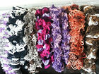 Hand Knit Scarf Scarves Loopy, Ruffle, Frilly, pompom, Lace, LOTS TO CHOOSE FROM