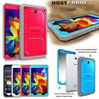 "Dust & Shock Proof Dual Layer Cover Rugged Case For 8"" Samsung Galaxy Tab 4 8.0"