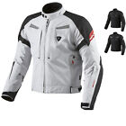 REV'IT EXCALIBUR WATERPROOF TEXTILE TOURING MOTORBIKE REVIT MOTORCYCLE JACKET
