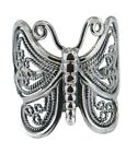 New Sterling Silver Filigree Butterfly Ring - Sizes 6-10