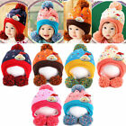 Baby Newborn Toddlers Beanie Costume Photography Prop Crochet Hat Cap Xmas 3-24M