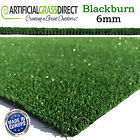 6MM CHEAP ARTIFICIAL GRASS QUALITY ASTRO REALISTIC NATURAL GREEN LAWN TURF FAKE