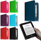 For Amazon Kindle(7th Generation 2014 Model) Premium PU Leather Folio Case Cover