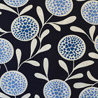 Copenhagen Print Factory Fabric Flowers Hearts Navy FQ Fat Quarter / F8th Scandi