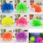 Colorful Fish Tank Plant Artificial Coral Water Decor Ornament Soft Silicone New
