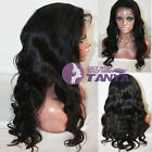 """12""""-22""""Loose Body Wave 100% Indian Remy Human Hair Lace wigs Full/Front lace wig"""