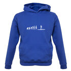 Evolution Of Man Paddle Board - Kids / Childrens Hoodie - Paddleboarding