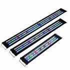 "24""/36""/48"" LED Aquarium Light Full Spectrum Multi-Color Marine Fish Tank Lamp"