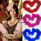 NEW Long Fluffy Feather Boa for Party Wedding Dress up Costume Decor 2M 79Inch