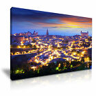 CITYSCAPE Europe Spain 1 1L Canvas Framed Printed Wall Art ~ More Size