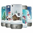 HEAD CASE CHRISTMAS IN JARS GEL BACK CASE COVER FOR APPLE iPHONE 5S