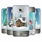 HEAD CASE CHRISTMAS IN JARS GEL BACK CASE COVER FOR SAMSUNG GALAXY S2 II I9100