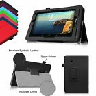 For Verizon Ellipsis 7 4G LTE Tablet 7-inch Folio Leather Stand Case Slim Cover