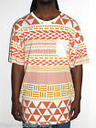 LRG Lifted Research Group Shirt New Mens Geometric Premium Fit Tee Size XL