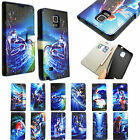 Zodiac Sign Designs Leather Wallet Cover Case For Samsung Galaxy Note 4 IV N9100