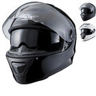 Shox Assault Full Face Inner Sun Visor Motorcycle Motorbike Scooter Crash Helmet