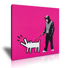 Banksy Choose Your Weapon Modern Wall Art Canvas Print Framed Box ~ Many Sizes