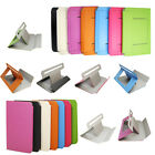 Universal PU Suction Cup Case Stand Holder Folio Cover for 7.7 - 9 Tablet Pad