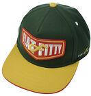Flat Fitty Vengers Adjustable Snapback Baseball Cap Hat, Green