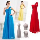 Evening Bridesmaid Debut Dress Long Formal Cocktail Party Prom Wedding Ball Gown