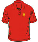 Russian Hammer & Sickle CCCP Badge Polo T-Shirt
