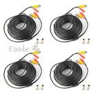 1/4 x 10/20/30/40M Video DC Security Surveillance BNC RCA Cable for CCTV Camera
