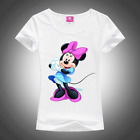 SALE Women's T-Shirt Minnie Mouse Fashion T Shirts for Girls New 2019 Hot