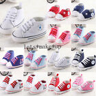 Infant Toddler Baby Boy Girl Soft Sole Pram Shoes Trainers Newborn to 18 Months1