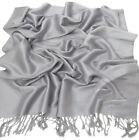 New Solid Colour Design Shawl Pashmina Scarf Wrap Stole CJ Apparel 80+ Colours