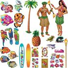 Hawaii Wanddekoration Deko Motto Party Sommerfest Surfer Strandparty Poolparty