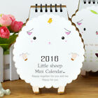 2016 Little Sheep Mini Calendar Stand Flip Calendar Desk Calendar