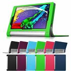 For 2014 Lenovo Yoga Tablet 2 8-inch Folio Leather Stand Case Sleep/Wake Cover
