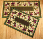 Collections Etc Fruit Border Accent Rug