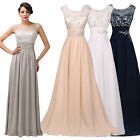 LONG Mother Of The Bride/Groom Formal Evening Wedding Guest Maxi Dress Prom Gown