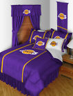 Los Angeles Lakers Comforter Bedskirt Sham Twin to King Size Sets