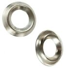 No. 8  NICKEL PLATED SCREW CUP WASHER SURFACE MOUNT - FREE UK DELIVERY